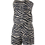Lascana Tiger Jumpsuit Damen tigerdruck