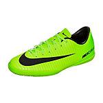 Nike Mercurial X Victory VI Fußballschuhe Kinder neongrün / schwarz