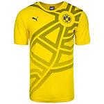 PUMA Borussia Dortmund Fan Fanshirt Herren gelb / schwarz