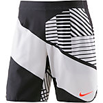 Nike Flx Ace Short 9In Pr Tennisshorts Herren weiß/schwarz