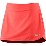 Nike Pure Tennisrock Damen neonorange