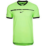 Nike AeroReact Rafa Challenger Funktionsshirt Herren lime / schwarz