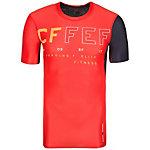 Reebok CrossFit Compression Funktionsshirt Herren orange / anthrazit