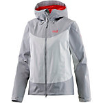 Jack Wolfskin North Ridge Funktionsjacke Damen hellgrau