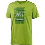 Millet Be Bold Printshirt Herren acid-green