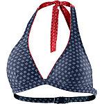 ESPRIT Orlando Beach Bikini Oberteil Damen navy/weiß