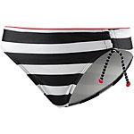 ESPRIT Redondo Beach Bikini Hose Damen schwarz/weiß