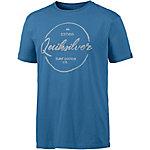 Quiksilver Classic T-Shirt Herren blau