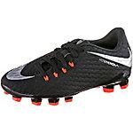 Nike JR HYPERVENOM PHELON III FG Fußballschuhe Kinder schwarz/silber