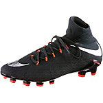 Nike HYPERVENOM PHATAL DF III FG Fußballschuhe Herren schwarz/silber