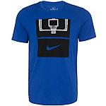 Nike Dry Core Art 1 T-Shirt Herren blau / schwarz
