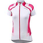 Löffler Hotbond Fahrradtrikot Damen weiß/pink