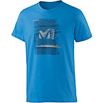 Millet Be Bold Printshirt Herren electric-blue
