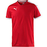 PUMA Pitch Funktionsshirt Herren puma red-white
