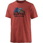 Burton Take a Hike T-Shirt Herren rot