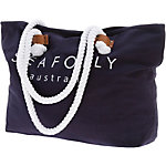 Seafolly Carried Away Strandtasche Damen blau