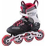 K2 Alexis 84 Pro W Fitness Skates Damen schwarz/rot