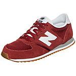 NEW BALANCE U420-RWG-D Sneaker rot / weiß