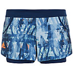 adidas Melbourne Tennisshorts Damen blau / bunt
