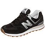 NEW BALANCE ML574-HRM-D Sneaker Herren schwarz / silber