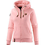 Naketano Brazzo VIII Sweatjacke Damen rosa melange