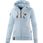 Naketano Brazzo VIII Sweatjacke Damen hellblau melange