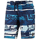 Protest Menace Badeshorts Herren navy/blau