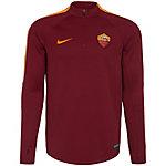 Nike AS Rom Squad Fanshirt Herren weinrot / orange