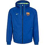 Nike FC Barcelona Windrunner Trainingsjacke Herren blau / neongrün