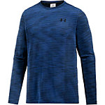 Under Armour HeatGear Threadborne Funktionsshirt Herren blau