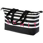 ESPRIT Redondo Beach Strandtasche Damen schwarz/weiß
