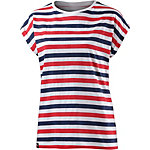 DEDICATED T-Shirt Damen rot/navy