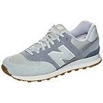 NEW BALANCE ML574-SEB-D Sneaker grau / hellblau