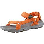 Jack Wolfskin Seven Seas 2 Outdoorsandalen Damen orange/grau