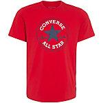 CONVERSE Core Chuck Patch T-Shirt Herren rot