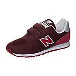 NEW BALANCE KA373-RGY-M Sneaker Kinder bordeaux / rot