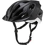 Uvex City S Fahrradhelm schwarz/weiß