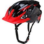 Uvex Stivo C Fahrradhelm schwarz/rot