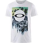 Oakley Surf Printshirt Herren weiß