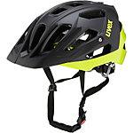 Uvex Quatro Fahrradhelm schwarz/gelb
