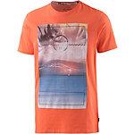 Protest Pursue Printshirt Herren orange