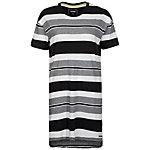 CONVERSE Striped T-Shirt Damen schwarz / weiß