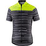 Gore Element Stripes Fahrradtrikot Herren schwarz/gelb