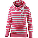 Ragwear Sweatshirt Damen pink gestreift