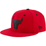 New Era Chicago Bulls Cap rot/schwarz