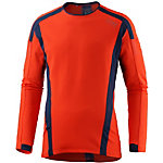 Gore Air Laufshirt Herren orange/navy