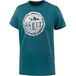 SCOTT CASUAL 20 Printshirt Herren blau