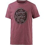 Marmot Turf Printshirt Herren weinrot