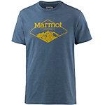 Marmot Mountaineer Printshirt Herren navy