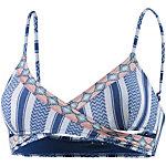 Rip Curl Del Sol Bikini Oberteil Damen blau/weiß
